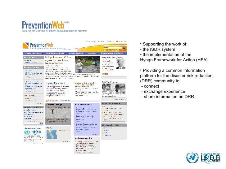 Prevention Web Beta Slideshow