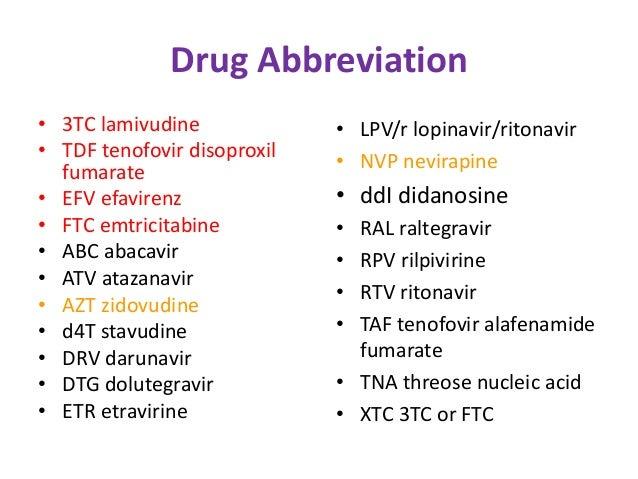 Etravirine recommendations