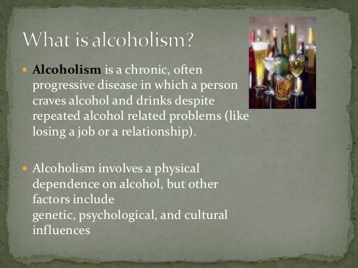 an overview of the genes related to alcoholism The modern disease theory of alcoholism states for the genetic basis of alcoholism overview of the biological factors related to.