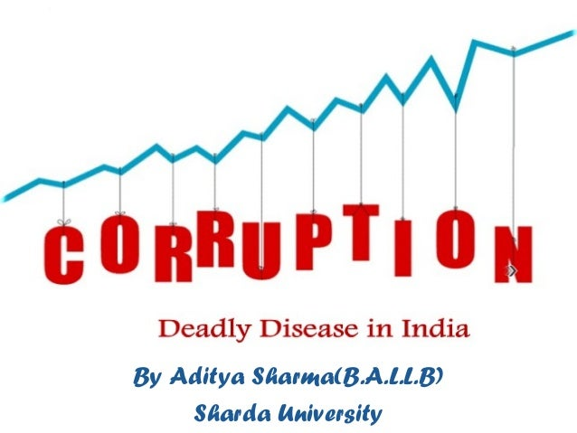 An essay on anti corruption in india