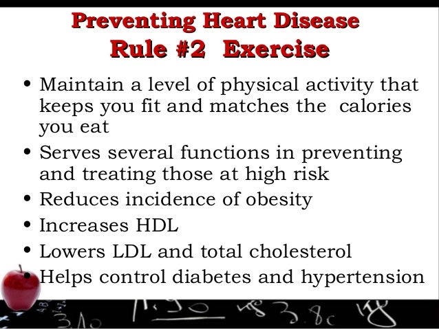 essay on prevention of heart disease The general term used to cover malfunctions of the heart is heart disease introduction to heart disease in terms of a heart disease prevention strategy.
