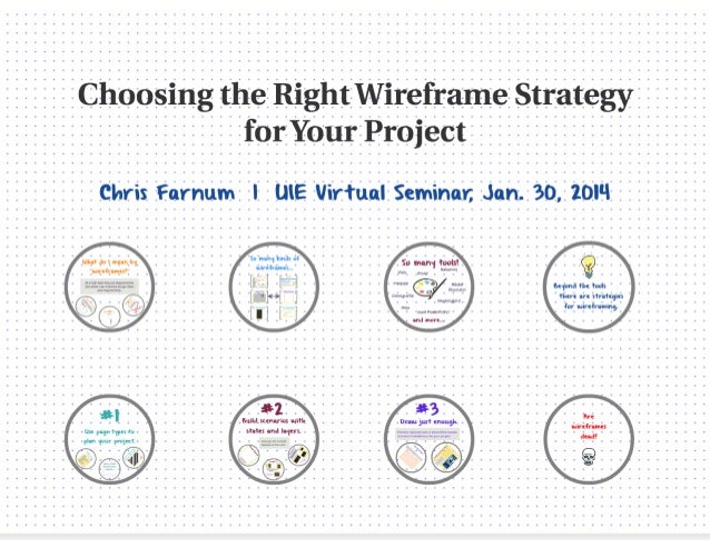 Preview choosing the right wireframe strategy