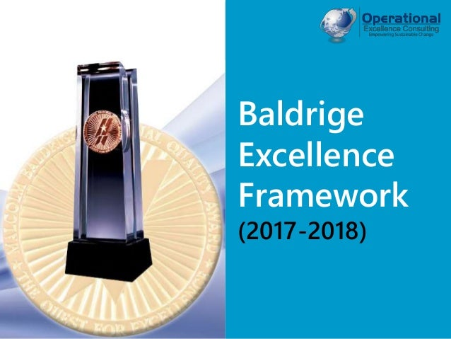 © Operational Excellence Consulting. All rights reserved. Baldrige Excellence Framework (2015-2016)