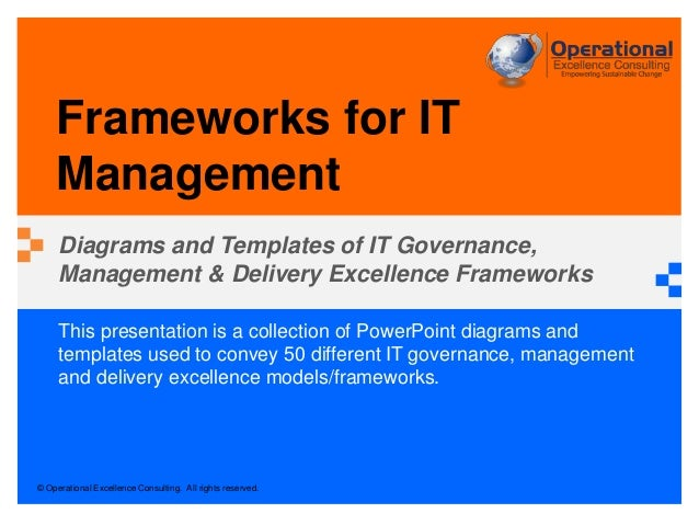 © Operational Excellence Consulting. All rights reserved. This presentation is a collection of PowerPoint diagrams and tem...