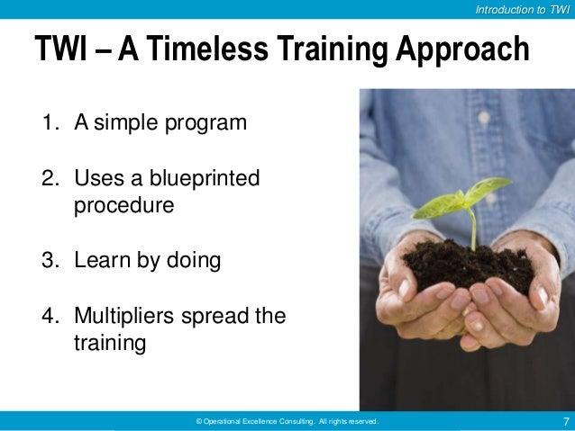 Job Training Methods Method Job Instruction Job