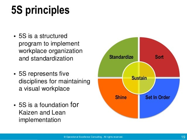 japanese principle 5s 5s in the japanese workplace - sorting out seiri (part 1 of 5) sep 14, 2011 by patricia pringle, japan intercultural consulting a common source of frustration for japanese supervisors.