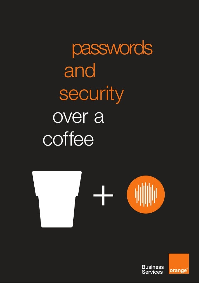 [EN] Passwords and Security Over a Coffee Preview