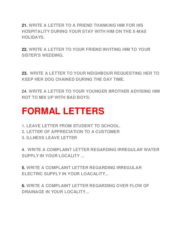 essay write a letter to your friend
