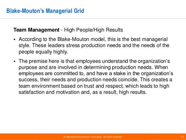 leadership grid essay