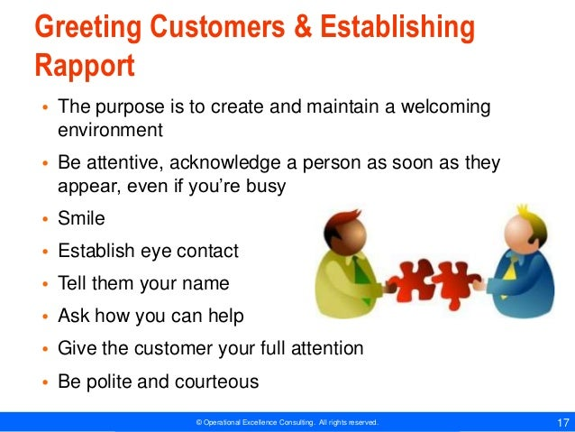 5 Ways to Properly Greet a Customer
