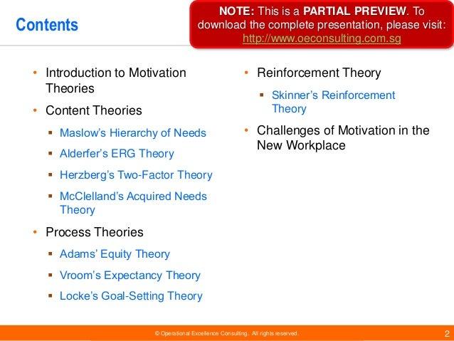 Essay motivation theories