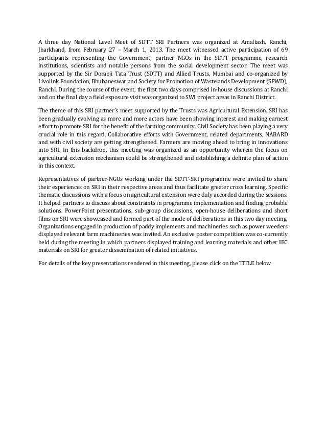 Preview text (sri partners meet 2013)