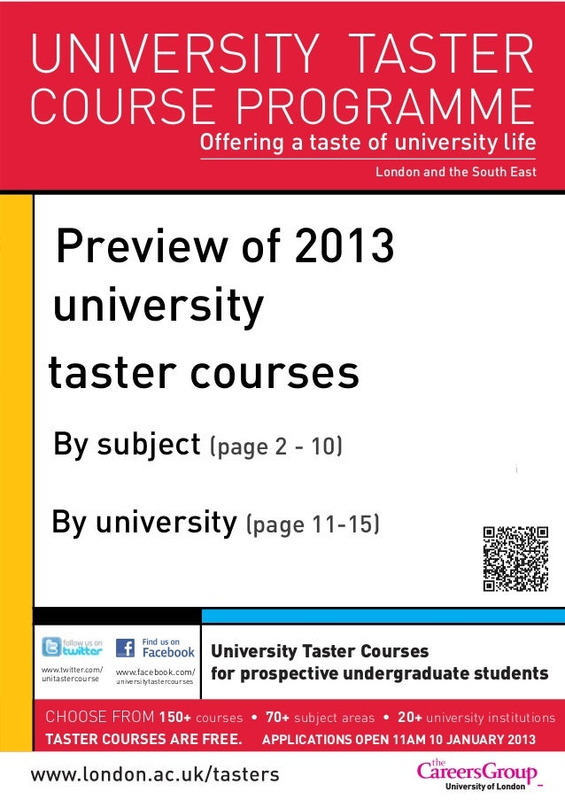 Preview university taster_courses_2013