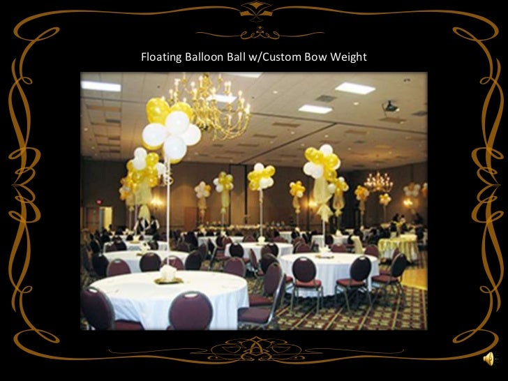 Floating Balloon Ball w/Custom Bow Weight