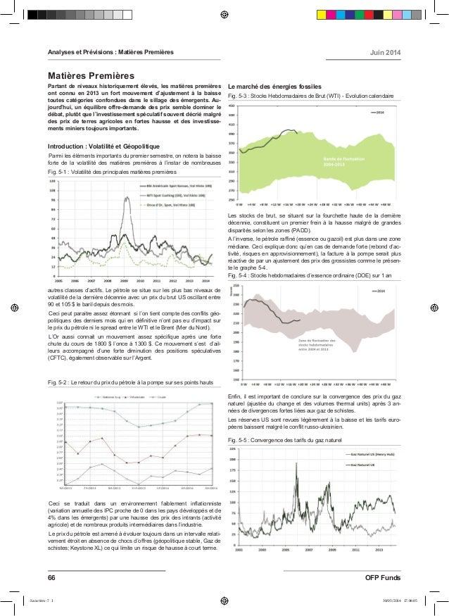 Partant de niveaux historiquement élevés, les matières premières ont connu en 2013 un fort mouvement d'ajustement à la bai...