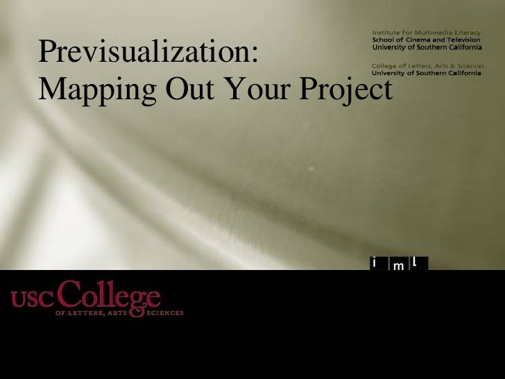 Previsualization: Mapping Out Your Project