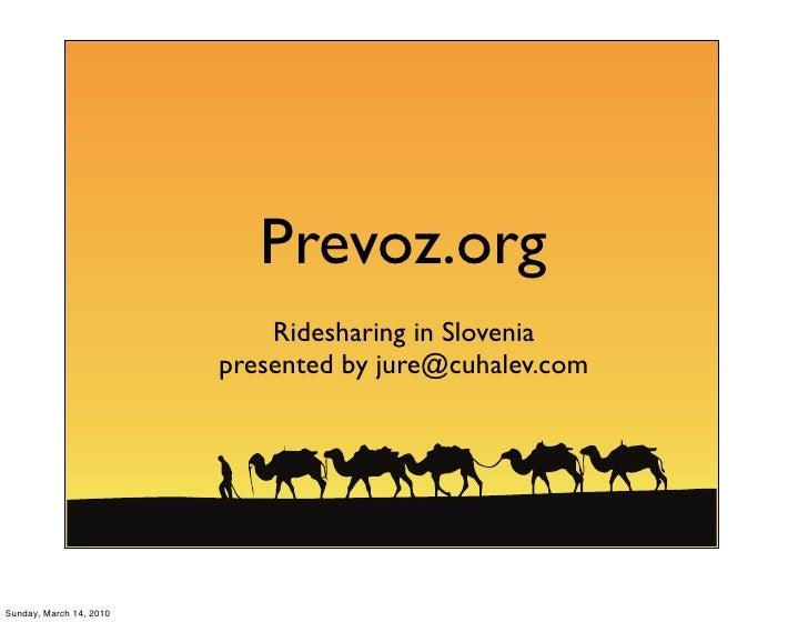 Prevoz.org presentation