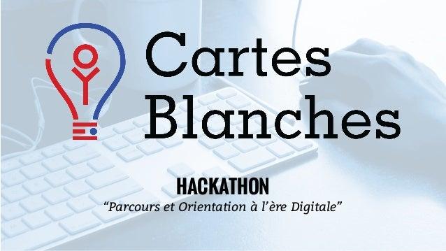 """HACKATHON """"Parcours et Orientation à l'ère Digitale"""""""