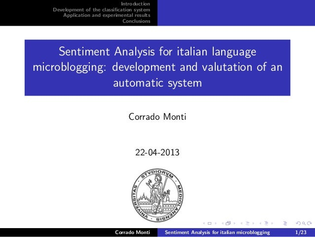 Sentiment Analysis and Political Disaffection in Italy