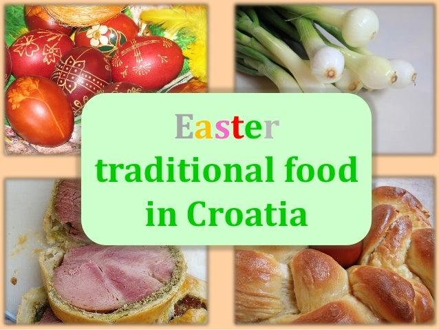20.5.2014. Easter traditional food in Croatia