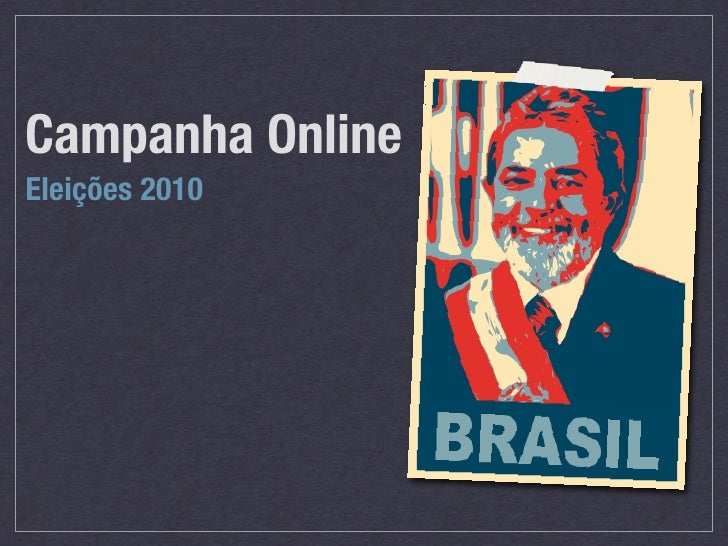 Campanha Online Eleições 2010