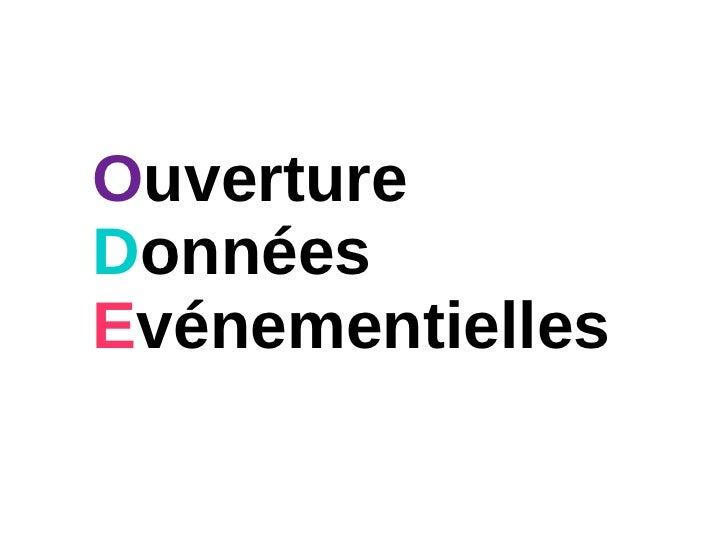 Prez agrégateur opendata / ouverture des données événementielles sur le territoire nantais