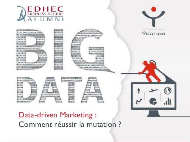 Data-driven Marketing :  Comment réussir la mutation ?