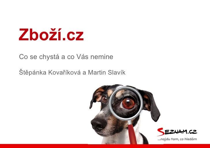 Zboží.cz na Vyhledávače zboží 2012