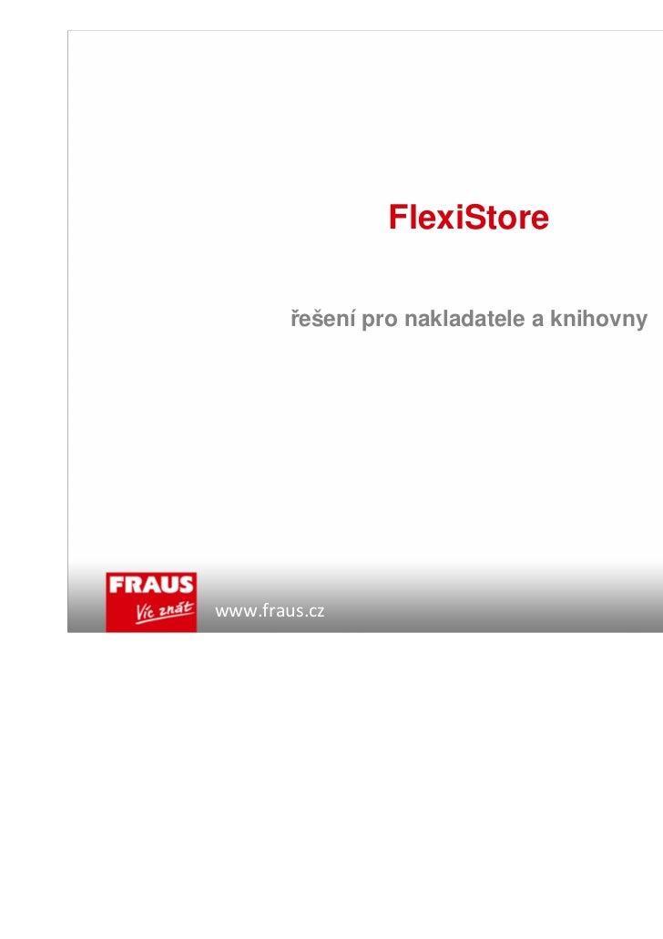 Nakladatelství Fraus - prezentace providerů (Jiří Fraus)