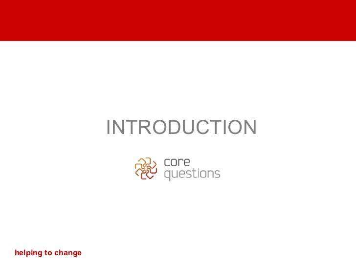 INTRODUCTION helping to change