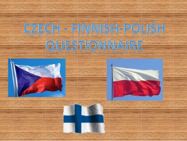 Prezentace polsko cesko finska