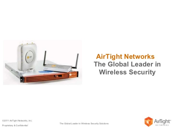 AirTight Networks  The Global Leader in Wireless Security