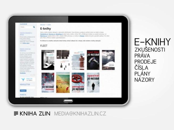 Kniha Zlín a e-knihy