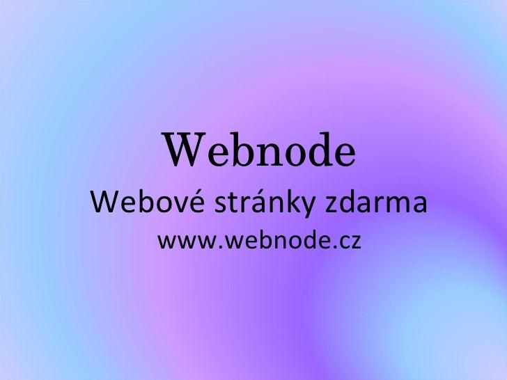 Prezentace Webnode [Automaticky UložEno]