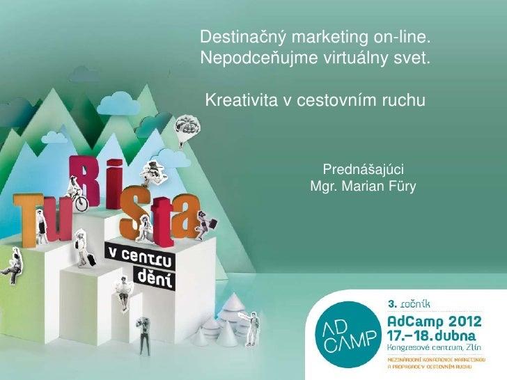 Desitnačný marketing on-line