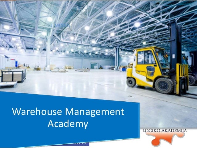 I. MODUL  Warehouse Management Academy