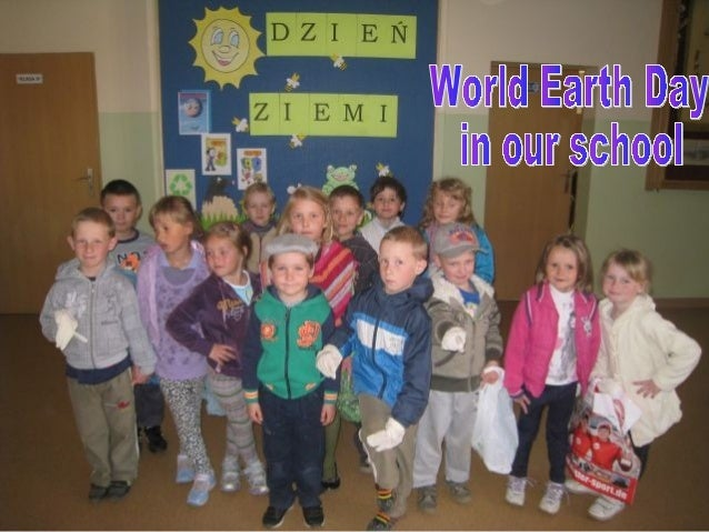 World Earth Day in our school