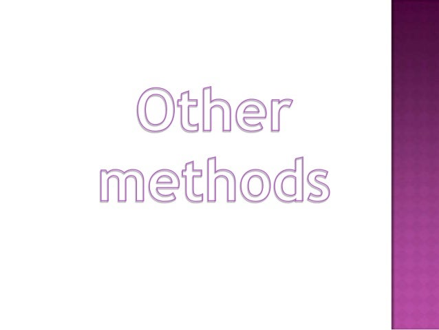 other methods the silent way