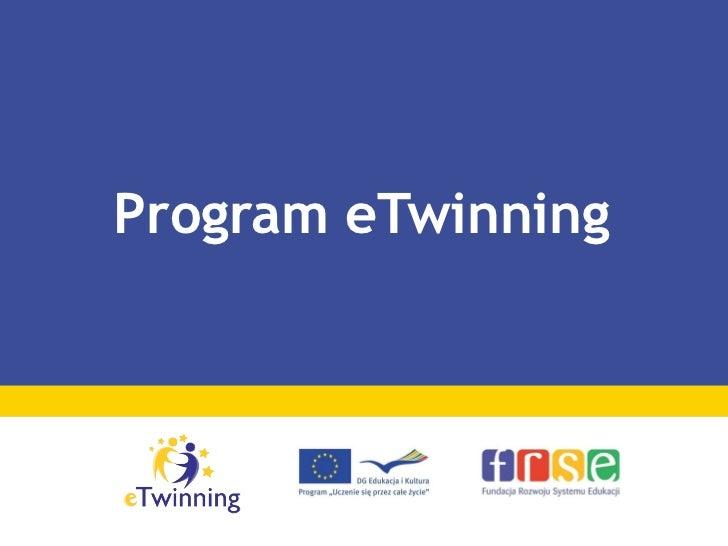 Prezentacja e twinning