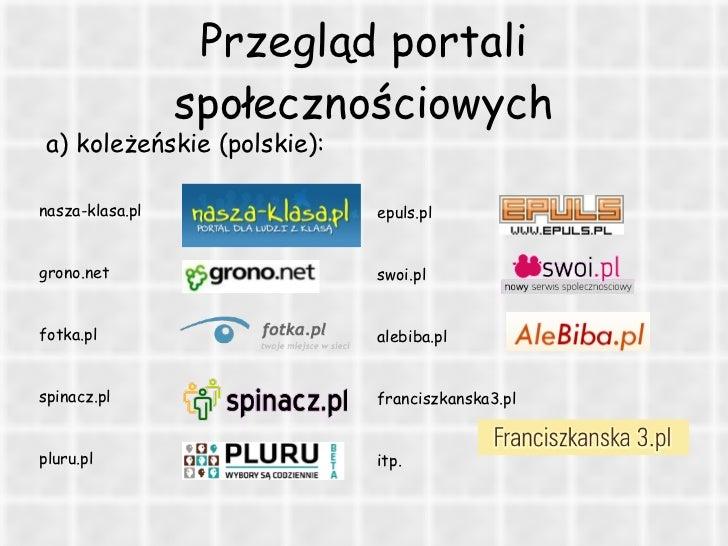 portale społecznościowe Poznań
