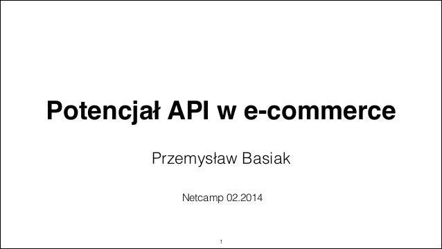 Potencjał API w e-commerce