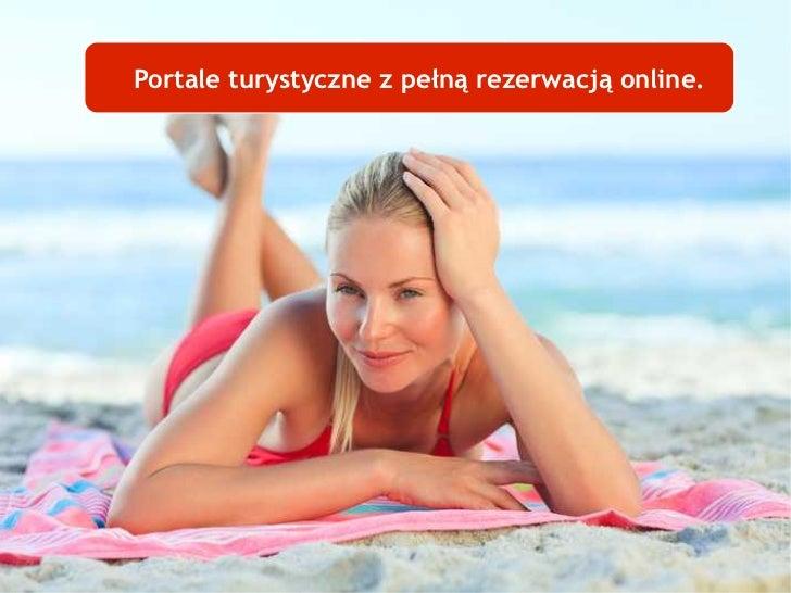 Portale turystyczne z pełną rezerwacją online.