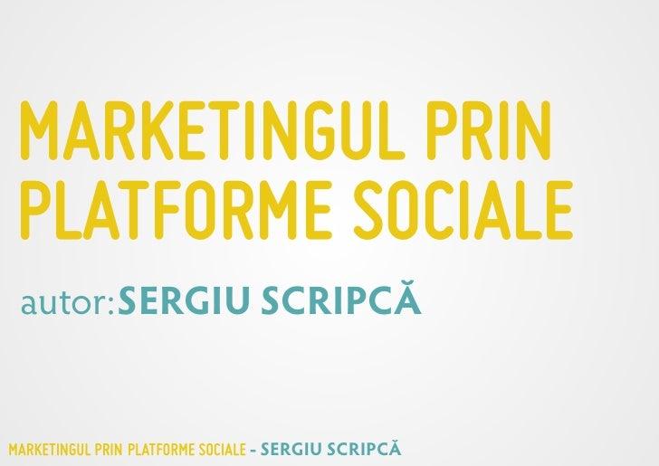 Intro Social Media