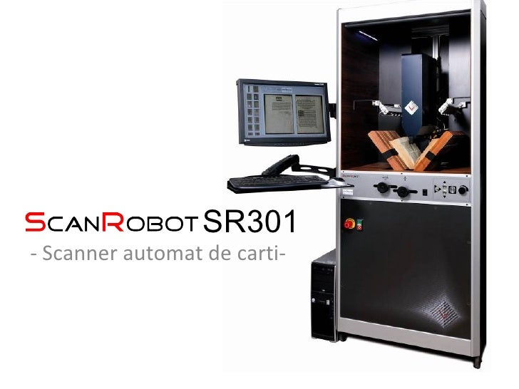 SR301 - Scanner automat de carti-