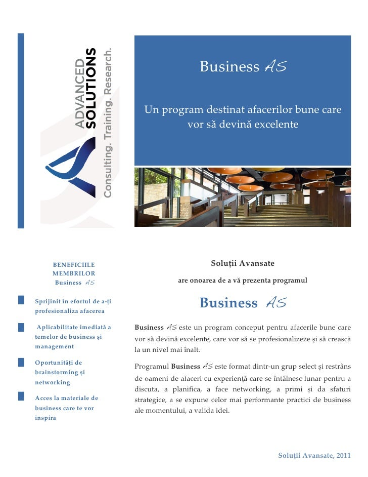 Business As