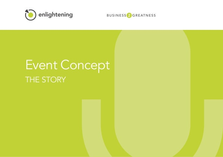 Event ConceptTHE STORY