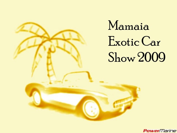 Prezentare Mamaia ExotiCar Show_2009