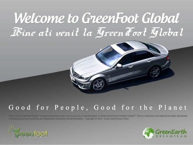 Bine ati venit la GreenFoot Global