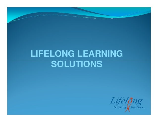 LIFELONG LEARNING SOLUTIONS