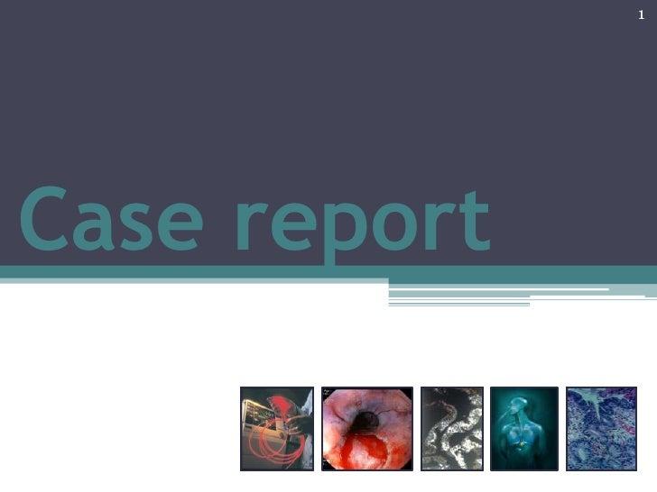 1Case report